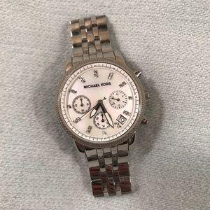 MICHAEL KORS MK5020 Silver Watch